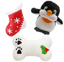 Plush Christmas Dog Toys